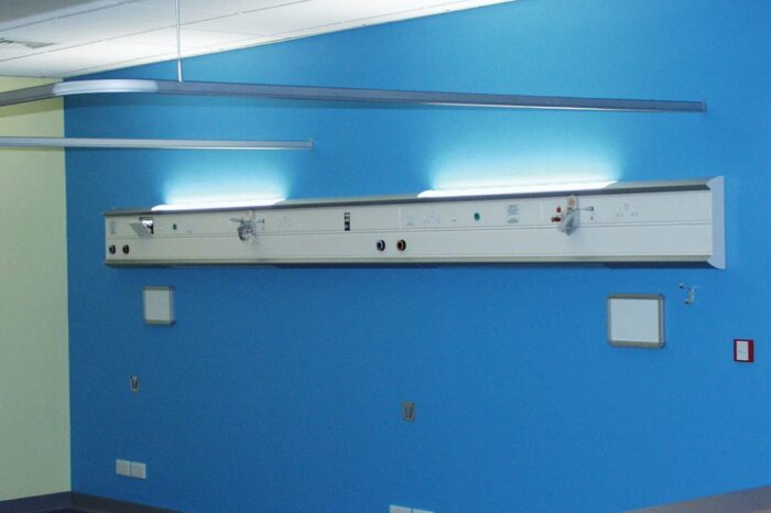 Medisys Integra, Horizontal Medical Trunking from Cableflow