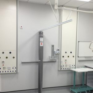 Cableflow Medicol, Vertical Medical Trunking from Cableflow