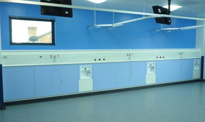 Cableflow RO-H, Horizontal Medical Trunking from Cableflow