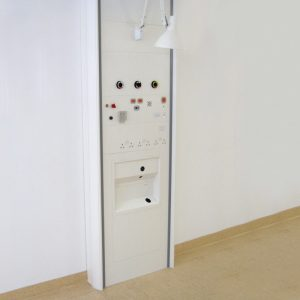 Cableflow Renal RO-V, Vertical Medical Trunking from Cableflow