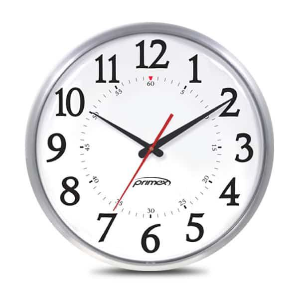 Synchronised Clock - Slim Metal Series Clock