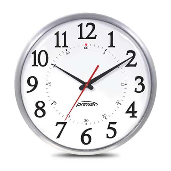Slim Metal Series Clock Synergy Medical Systems Ireland