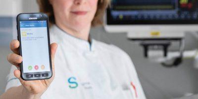IQ messenger Spaarne Hospital case study