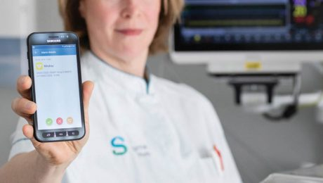 IQ messenger Spaarne Hospital case study