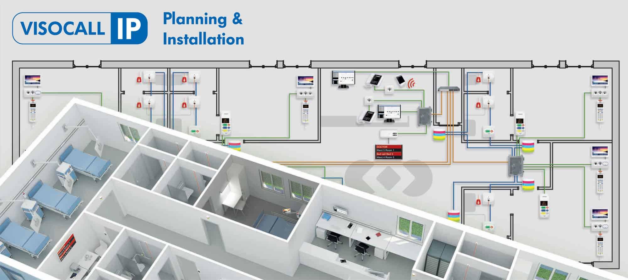 VISOCALL IP Nurse Call Systems Planning and Installation