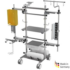 Provita Stationary ICU Device Cart