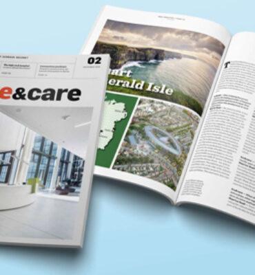 Featured in Schrack Seconet Magazine